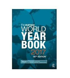 New: The Europa World Year Book 2017 58th ed. 3 vol setISBN:9781857438888