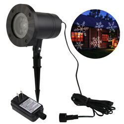 50x Outdoor Christmas LED Light Moving Laser Projector Landscape Xmas Santa Lamp
