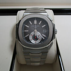 Patek Philippe Nautilus Chronograph Stainless Steel Watch 59801A-014 Complete