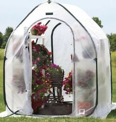 Portable Greenhouse Kit Collapsible Small Mini Hot House Hothouse Garden Pop Up