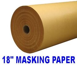 450mm x 250m KRAFT PAPER WRAPPING PARCEL PACKING BROWN ROLL POST 50GSM 18