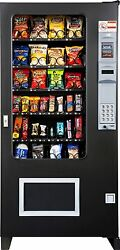 Candy Chip & Snack Vending Machine AMS 32 Select Vendor + Coin & Bill Changer