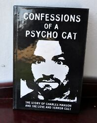 Confessions Of A Psycho Cat Ltd Ed HC #1369 Sharon Tate Creation Books RARE!