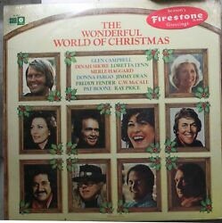 Christmas Sealed Lp Various Artists The Wonderful World Of Christmas On Capitol