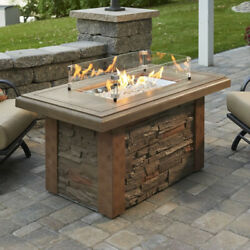 Sierra Linear Fire Pit Table  SL-1224-M-K  60000 BTUs Propane or Natural Gas