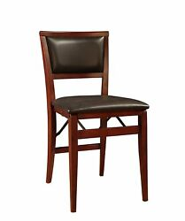 Padded Folding Chair SET OF 2 Chairs Furniture Home Garden Easy Storage SET UP S