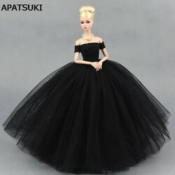 Black Little Dress Wedding Dress for 11.5quot; Doll Dresses Clothes for 1 6 Doll Toy $9.67