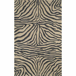 Trans-Ocean Spello Collection Indoor-Outdoor Rug - Zebra