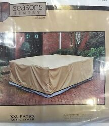 Rectangle Oval Patio Table Chair Cover 120