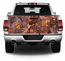 Rusty Rusted Out Look Truck Tailgate Wrap Vinyl Graphic Decal Sticker Wrap #213