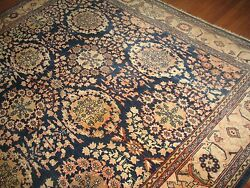 Antique Gorgeous All-Over Persian Mahal Sultanabad Rug Size 8'10''x11'7''