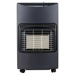 4.2kW Radiant Portable Gas Cabinet Space Heater CW Hose & Regulator $73.26
