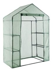 Walk in Portable Garden Greenhouse Mini Plants Shed Hot House with 3 Tiers 6