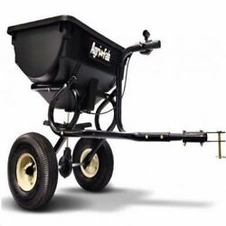 Tow Behind Lawn Spreader Seed ATV Fertilizer Home Salt Hopper Tractor S $129.97