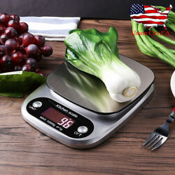 22lb10kg Digital Electronic Kitchen Scale Meat Diet Food Postal Weight Balance