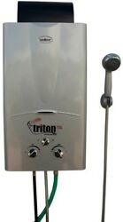 Triton 10 l Portable Water Heater Outdoor Heating Patio Fireplace Accessories