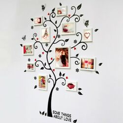 DIY Family Tree Wall Decal Sticker Large Vinyl Photo Picture Frame Removable