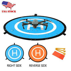 110cm Landing Pad Portable Helipad for RC Drones DJI Phantom 4 3 Mavic Pro $19.98