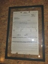 Dean Martin Original 1948 Signed Capitol Records FIRST Recording Contract