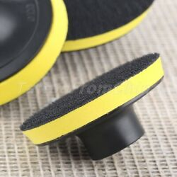 75-125mm Professional Car M14 Backing Plate Pad Hook and Loop Polisher Buffing $4.13