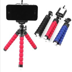 Universal Flexible Octopus Tripod Stand Phone Holder for iPhone Samsung Camera $7.79