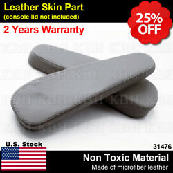 2pcs Leather Seat Armrest Cover Fit for Lexus GX 470 GX470 2003-2009 Dark Gray $29.75