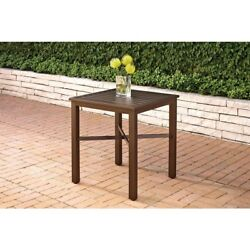 Mix and Match Metal Outdoor Bistro Table Pool End Side Patio Porch Deck Backyard