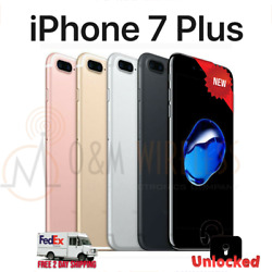 NEW Apple iPhone 7 PLUS 32GB 128GB 256GB (A1784 Factory Unlocked) - All Colors