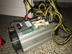 USED Bitmain AntMiner S7 ASIC BitCoin Miner 4 TH s PSU INCLUDED USA $600.00