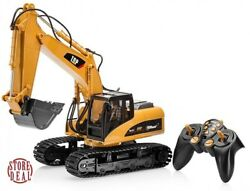 RC Excavator Tractor Toy Remote Control Truck Metal Digger Vehicle Full Function $118.95