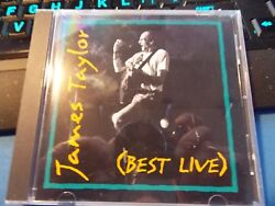 Best Live by James Taylor CD (1994) SonyColumbia) Good Condition w Free Shipn
