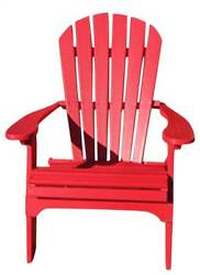 Phat Tommy Recycled Poly Resin Folding Adirondack Chair [ID 89313]