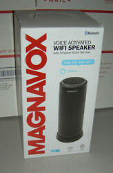 Magnavox Voice Activated WiFi Speaker with Amazon Voice Serv - Black *READ FIRST