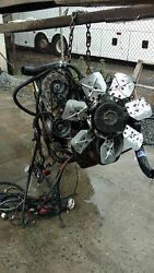 7.3 diesel engine Powerstroke IDI from 1989 Ford F350 which it was used in the c