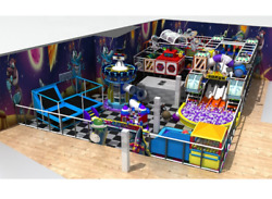 5000 sqft Commercial Indoor Playground Interactive Soft Play Turnkey We Finance