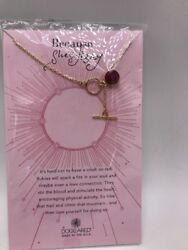 Dogeared Ancient Moon Rising Because She's Fiery Dyed Ruby Gem necklace L302