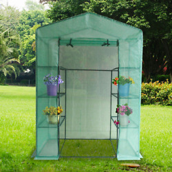 Quictent Mini Walk-in Greenhouse 4 tiers 6 Shelves Portable 78x56x30 inches