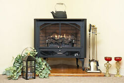 Buck Stove Model 384 Vent Free Blower Fireplace Gas Stove