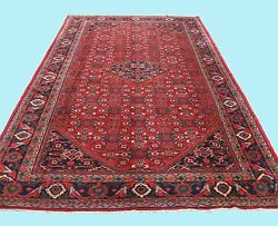 HANDMADE PERSIAN CARPET RUG FLOOR RED RUG RECTANGLE WOOL 40+ AREA RUGS 10X17ft.