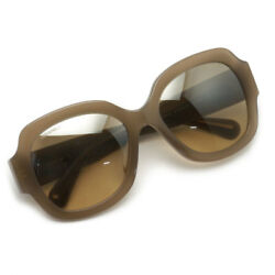 CHANEL 5373A Sunglasses Gray Brown Butterfly Mirror Coating FS Excellent #1221