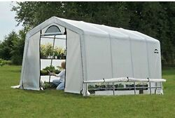 Large Outdoor Greenhouse Steel Frame Waterproof Ripstop Cover Walk In 10X20X8 Ft