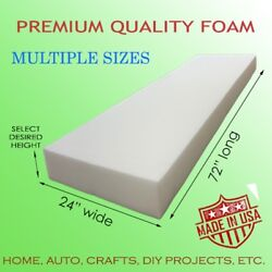 Medium Density Upholstery Seat Foam Cushion Replacement Home Auto Crafts Etc  $18.95