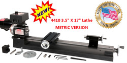 SHERLINE 4410 3.5 X 17 LATHE METRIC +  For INCH SEE PN 4400 $695.00