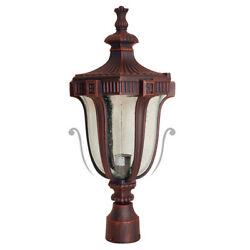 Finish Exterior Frost Glass Terra-cotta Collection Outdoor Lantern Light