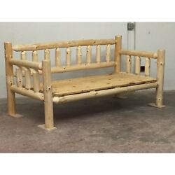 Rustic Log Daybed! Log Furniture! Rustic Decor! Cabin or Home Free ship! Day Bed