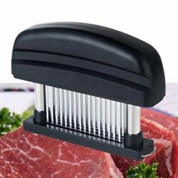 Meat Tenderizer 48 Blade Stainless Steel ABS Needle Prongs Home Kitchen Tool