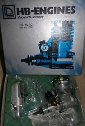 HB Engine HB 15 rc motor cat no. 1500. Made in Germany $149.99