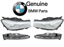 For BMW G11 Left & Right LED Adaptive Headlights & Fog Lights Lamps Set Genuine