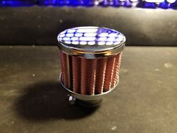 RC Nitro Air Filter Washable (CHROME) Fits HPI & TRAXXAS & Other Vehicles