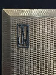Rare Large & Heavy Solid 9ct.Gold Hardy Bros CIGARETTE CASE Marked